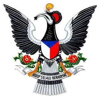Coat of arms of Sarawak - Image: Coat of arms of Sarawak (1973 1988)