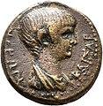 Coin depicting Nero as a boy.jpg