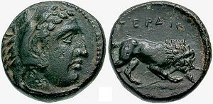Perdiccas III of Macedon - stater of Perdikkas III