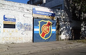 Club Atlético Colegiales (Argentina) - Stadium's entrance on G. Posadas street.