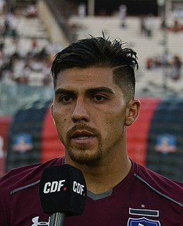 César Pinares Chilean association football player