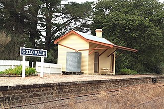 Colo Vale, New South Wales - Colo Vale Railway Station located on the Old Picton Loop Line