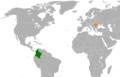 Colombia Romania Locator.png