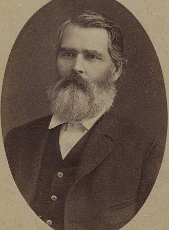 George R. Reeves - George Robertson Reeves as Texas Speaker of the House Circa 1881