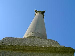 Monolithic column - Pompey's Pillar, a Roman monolithic column in Alexandria, Egypt