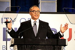 Columbus Mayor Michael B Coleman - SOC Address 2014.JPG