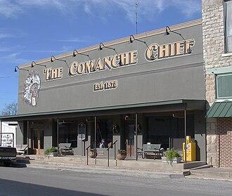 Robert T. Hill - Image: Comanche Chief 2008