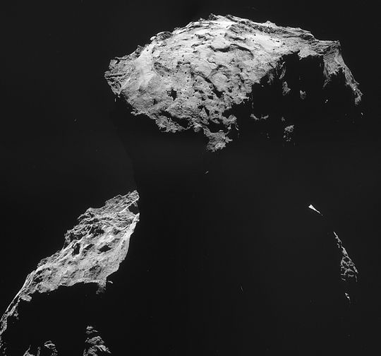 philae found! rosetta space science our activities esa - HD 1500×1399