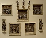 Competition for Siena baptistery - casting in Pushkin museum.jpg
