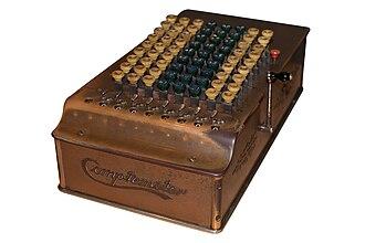 Comptometer - Image: Comptometer