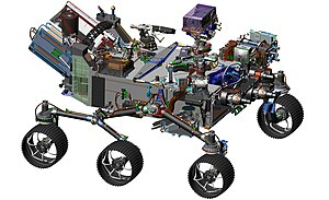 Mars 2020 - Computer-design drawing for NASA's 2020 Mars Rover