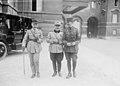 Conférence des alliés, commandant aviateur de Malherbe (25 juillet 1917, quai d'Orsay) - (photographie de presse) - (Agence Rol).jpg