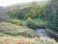 Confluence of spillways at Colt Crag Reservoir - geograph.org.uk - 1008555.jpg