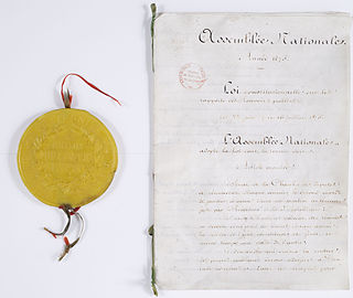 French Constitutional Laws of 1875
