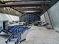Construction activities stage Строительно-монтажные работы на станции метро Борисово в Москве.jpg