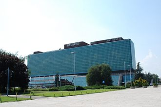 Crowne Plaza Belgrade - Continental Hotel in August 2009.