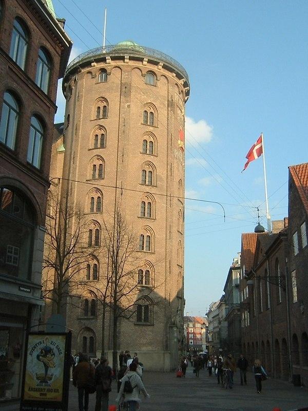 Copenhagen Rundetårn street left