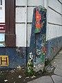 Corner post, High Street, Omagh - geograph.org.uk - 358001.jpg