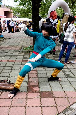 Cosplay de Rock Lee