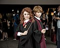 Cosplayers of Hermione Granger and Ron Weasley 20180519b.jpg