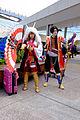 Cosplayers of Mitsunari Ishida and Kojirō Sasaki, Sengoku Musou 3 at FF25 20150201.jpg