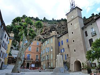 Cotignac Commune in Provence-Alpes-Côte dAzur, France