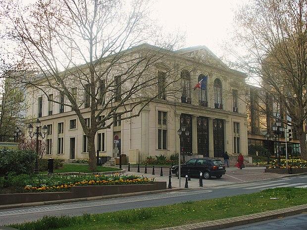 Monument historique à Courbevoie