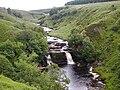 Crammel Linn waterfall, River Irthing.jpg