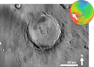 Henri Joseph Anastase Perrotin - Martian crater Perrotin