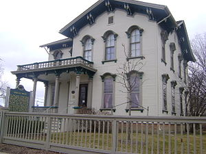 Mount Clemens, Michigan - Image: Crocker House in Macomb County, Michigan