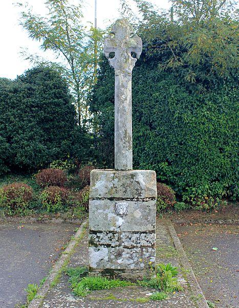 Croix du chemin de Coëtcandec: face ouest