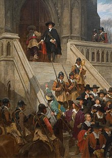 Cromwell Dissolving the Long Parliament By: Andrew Carrick Glow