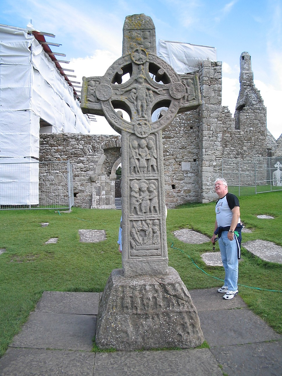 Cross of the Scriptures, Clonmacnoise, Co. Offaly, Ireland