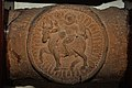 Crossbar Representing Bull and Rider - Sunga Period - ACCN 33-2322 - Government Museum - Mathura 2013-02-24 6182.JPG