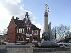 Cuinchy - The town hall of Cuinchy