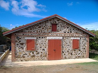 Culebra, Puerto Rico - Early 20th Century warehouse, now converted into a museum.
