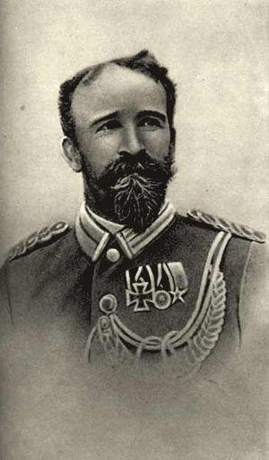 Curt von François - François in Schutztruppe uniform, 1896