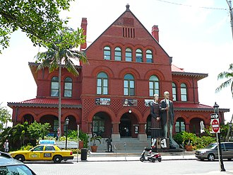 Old Post Office and Customshouse (Key West, Florida) - Image: Customs House Key West 2008