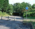 Cycle Subway (on National Cycle Network Route 20) between Manor Royal Industrial Estate and Northgate, Crawley, West Sussex - geograph.org.uk - 24834.jpg