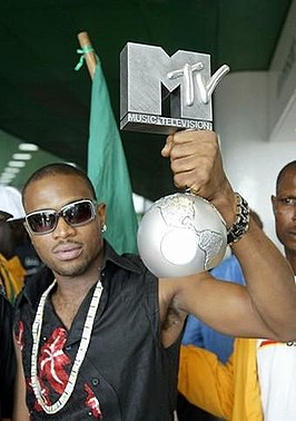 D'banj met zijn MTV Europe Music Award