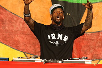 DJ Lord - DJ Lord performing with Public Enemy in 2014