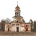 DP2M4208 The Ruins of the Church of the Sign in Teploe (Церковь Знаменская в Теплом). 1797. West view. (24024011061).jpg