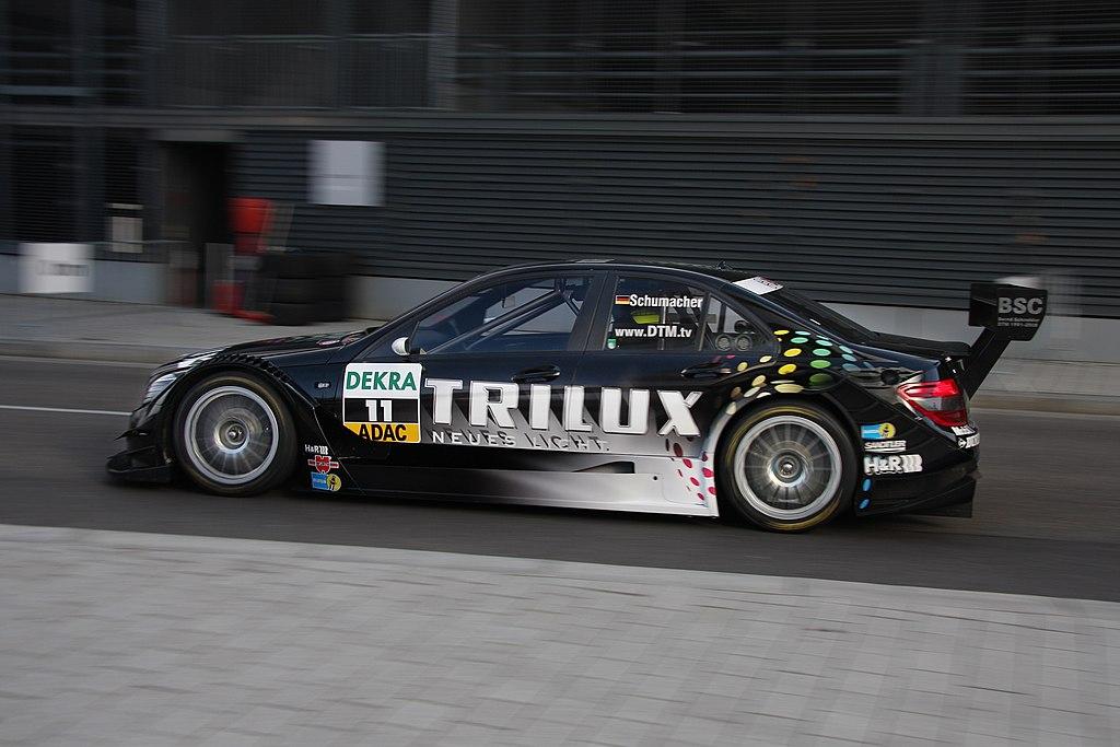 Dtm car mercedes benz season 2008 c class w204 ralf for Ralf benz