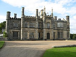 Dalmeny House, south front
