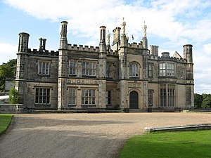 Dalmeny House - Dalmeny House, south front