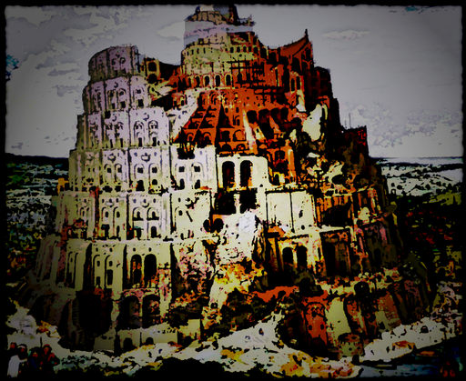 Dark babel icon