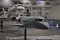 Dassault Falcon 5X model Paris Air Show 2015.jpg