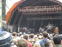 The Datsuns beim Big Day Out