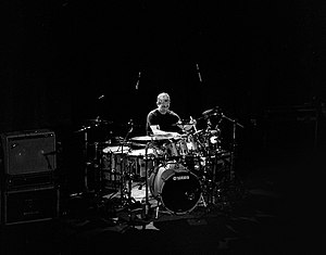 Dave Weckl - Dave Weckl live with the Mike Stern Band in 2009