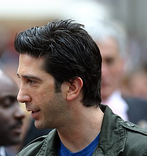 Madagascar (2005 film) - Schwimmer at the film's British premiere in London.